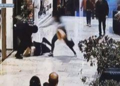 一名法国人在西班牙一购物中心暴力抢劫被抓