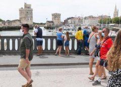 法国越来越多地区要求户外也须戴口罩 疫情随时可能再次失控