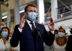 马克龙:法国60%人口已接种第一剂新冠疫苗
